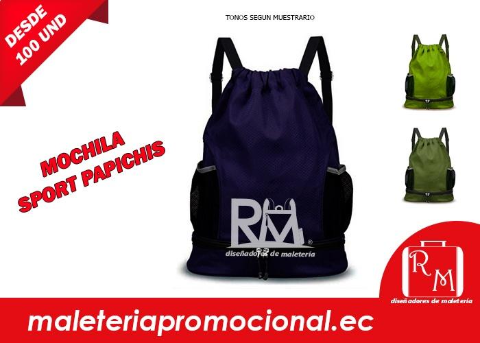 fabricantes de mochilas promocionales tela honey en ecuador
