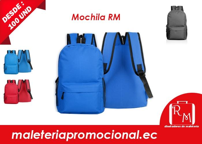 fabricantes de mochilas rm en ecuador